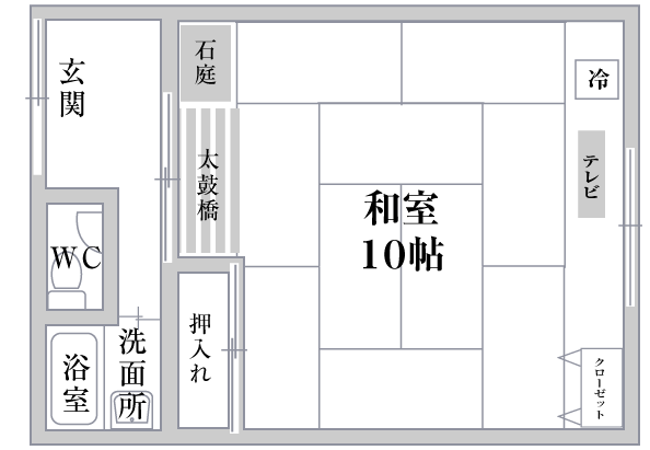 嵐山平面図