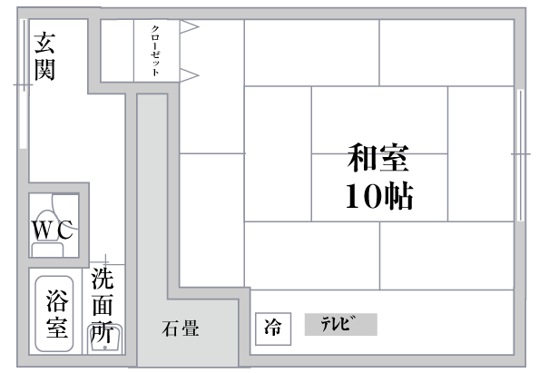 西陣平面図