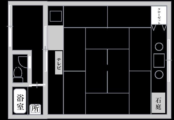 嵯 峨 野平面図
